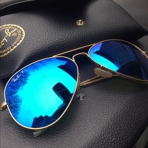 Polarized Aviator Ray Bans